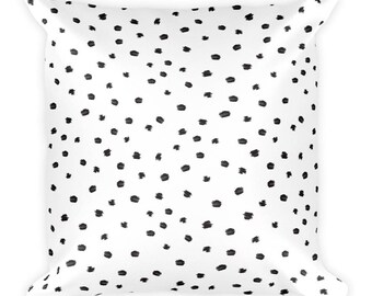 Spotted Dot Square Pillow