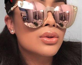 2018 Sunglasses Crystal Skull