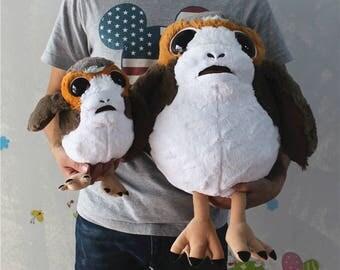 "Porgs The Last Jedi Huge Soft Plush Doll Super Cute Star Wars 20"" 10"" Get it by Valentine's Day"