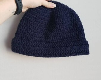 Boyfriend Beanie (crochet)