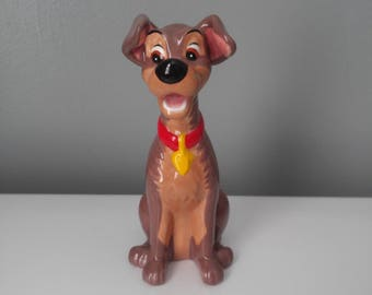 Disney's TRAMP Ceramic Figurine
