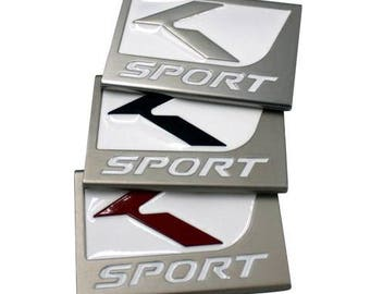 LODEN K Sport Emblems (Lexus F Sport Style) for Kia Models