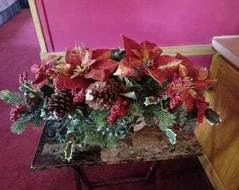 Evergreen Christmas Arrangement