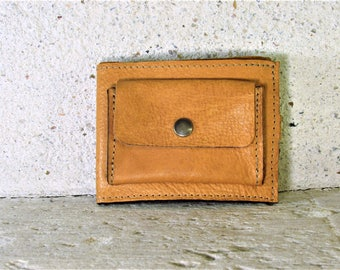 handcrafted wallet leather