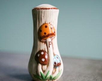 Ceramic Mushroom Pepper Shaker
