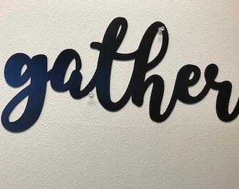 Gather Metal Wall Art