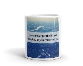 Imagine Quote  Mug
