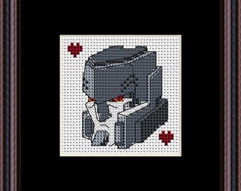 Megatron crosstitch