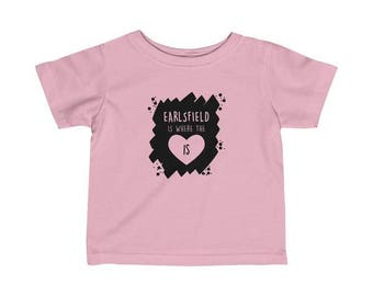 Earlsfield Is Where The Heart Is Infant T-Shirt