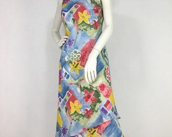 90s Carlise dress/1990s midi dress