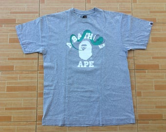 Rare A bathing ape x kaws