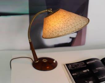 TEMDE table lamp TEAK lamp adjustable-50 s-table-lamp-mid-century-modern-VINTAGE