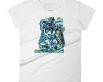 Baphomet - Women's short sleeve t-shirt