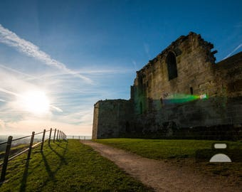 "Mounted Photographic Display Print - Stafford Castle #1 (A4 print in 14"" x 11"" Mount, Unframed)"