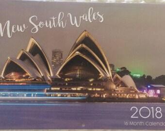 2018 NSW Wall Calendar
