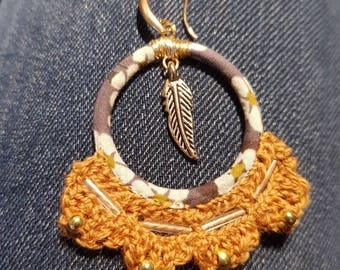 Liberty earring and hook