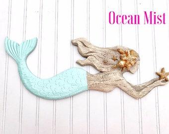 Beau Mermaid Wall Decor   Beach Decor   Mermaid Bathroom   Nursery   Coastal    Beach House
