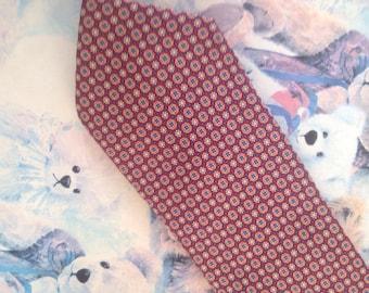 Vintage 80's Vintage Pure Silk Tie