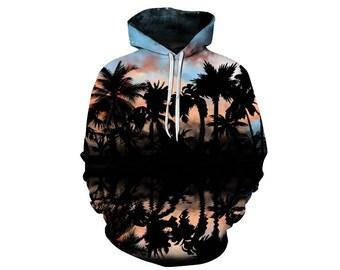 Tree Hoodie, Outdoor Hoodie, Tree Sweatshirt, Nature Hoodie, Art, Hoodie Art, Hoodie Pattern, Pattern Hoodie, Hoodie, 3d Hoodie - Style 1