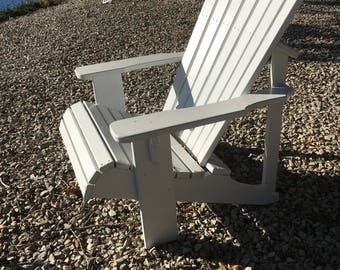 Jersey Shore area only pick up/delivery custom made adirondack chairs // beach house // fire pit // dock // deck // patio // porch