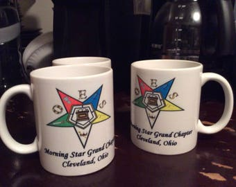 OES Order of Eastern Star Mug