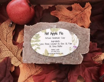 Hot Apple Pie Handmade Artisan Soap