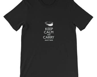 Keep Calm and Carry Duct Tape   Funny Shirt