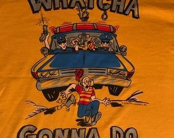 Cops vintage shirt