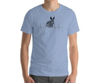 Bunny Ekg - Bunny Ecg - Rabbit Ekg - Bunny Heartbeat - Ekg Rhythm - Bunny Love - Easter Bunny Shirt - Girl Bunny Shirt - Girls Easter Bunny