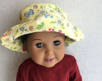 "Hat fits 18"" dolls such as American girl"