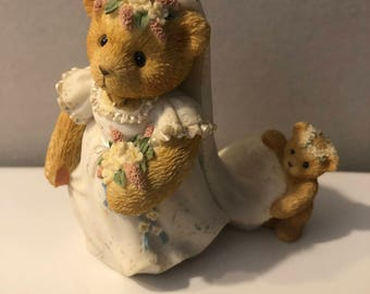 Cherished Teddies Bride