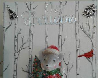 Christmas Decor - Merry Mouse