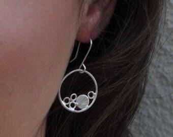 Bubble hoop Earrings