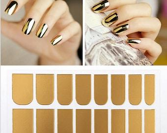 Gold Nail Foils