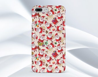 Christmas iPhone X Case Santa Claus iPhone 8 Plus Case Santa Claus iPhone 7 Case Samsung S8 Plus Case iPhone 7 Plus Case Samsung S7 Case
