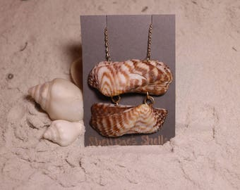Turkey Wing Shell Necklace