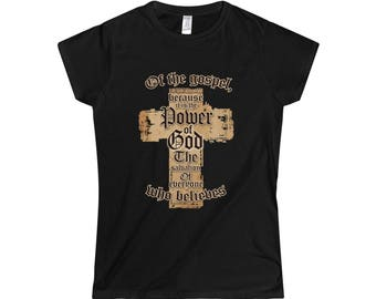 Ladies Christian T Shirt, Lord Shirt, Evangelical T shirt, Gospel T shirt, Bible T shirt , Jesus Christ T shirt, God T shirt, Gospel Apparel
