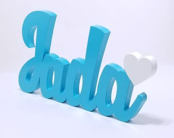 Customized Name wood art- Multiple color options available