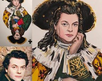 Portrait illustration,portrait painting,portrait order,portrait by photo