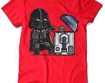 209-T-shirt Star Wars-Robotictrashcan