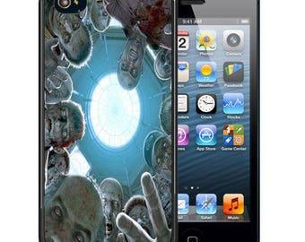 Zombies Rubber Case For iPhone X, 8, 8 plus, 7, 7 plus, 6s, 6s plus, 5, 5s, 5c, SE