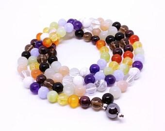Twelve Chakra Mala Necklace