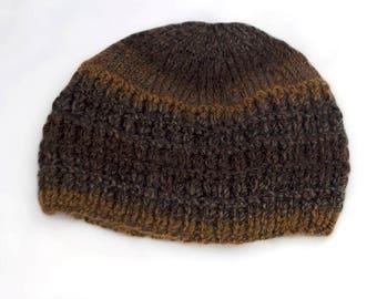 Fashion - Warm - Beanie Hat - Hand knitted – Gift for her – Ladies Beanie – Lightweight to travel