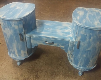Antique furniture etsy Lime washed bedroom furniture
