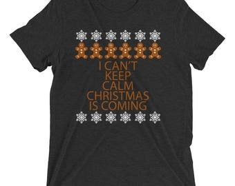 Christmas Is Coming Short sleeve t-shirt