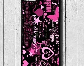 Girls Rule iPhone Cases iPhone 5 5C SE 6 7 8 PLUS X Case Cover