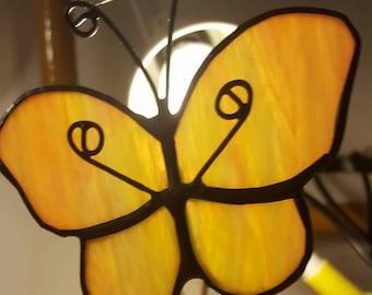 gift, handmade, unique, glass, Tiffany, friendship, children, butterfly