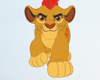 The Lion Guard Kion Disney Wall Decal Sticker Bedroom Vinyl Kids Art