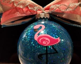 Christmas Ornament - Flamingo