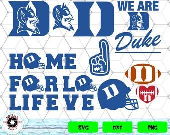 Duke Blue Devils svg,png,dxf/Duke Blue Devils clipart for Print/Design/Cricut/Silhouette...etc